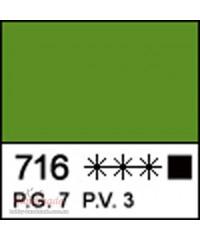 12304716 Краска акриловая МАСТЕР-КЛАСС Травяная Зеленая, 46 мл
