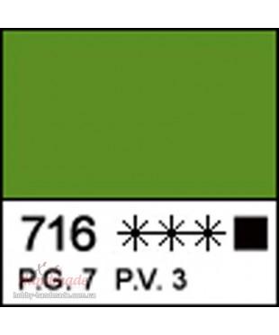Краска акриловая МАСТЕР-КЛАСС 12304716  Травяная Зеленая, 46 мл