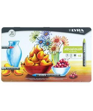 """Набор акварельных восковых карандашей Lyra """"Aquacolor"""" 56111480"""