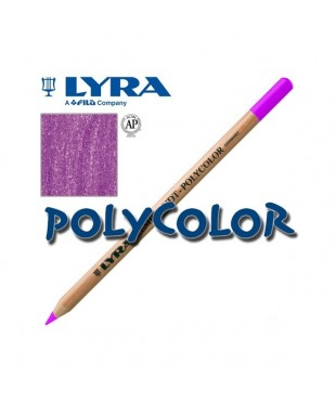 2000034 Профессиональный художественный карандаш для графики. LYRA REMBRANDT POLYCOLOR Пурпурный