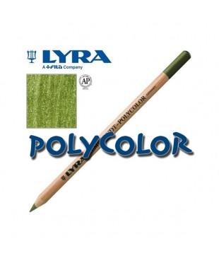 2000074 Профессиональный художественный карандаш для графики. LYRA REMBRANDT POLYCOLOR  Кедровый зеленый