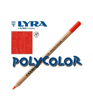 2000018 Профессиональный художественный карандаш для графики. LYRA REMBRANDT POLYCOLOR Краплак алый