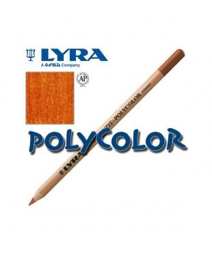 2000015 Профессиональный художественный карандаш для графики. LYRA REBRANDT POLYCOLOR Темно оранжевый