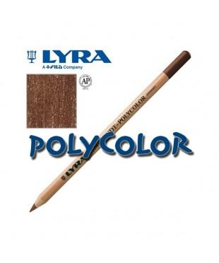 2000076 Профессиональный художественный карандаш для графики. LYRA REMBRANDT POLYCOLOR Ван-Дик коричневый