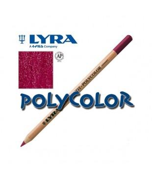 2000033 Профессиональный художественный карандаш для графики. LYRA REMBRANDT POLYCOLOR Красный винный