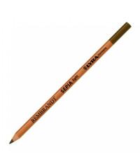 2031001 Меловой карандаш REMRANDT LYRA, обезжиренный , светло - коричневый