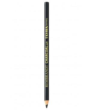 2034001 Уголь в карандаше LIRA Rembrandt Charcoal Soft, мягкий