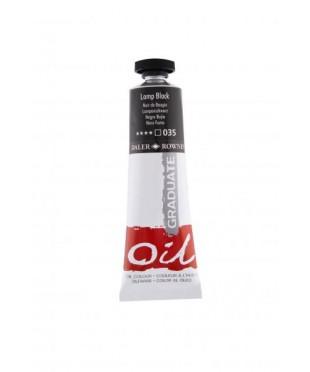 Краска масляная Daler-Rowney GRADUATE 38мл, 035 Сажа газовая