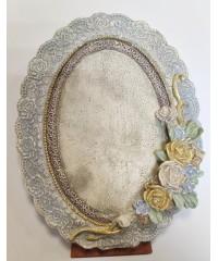 Фигурная рамка-медальон (Арт. 458)