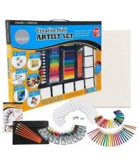 "SIMPLY ""Creative Mini Artist Set"" Художественный набор, 115 предметов"