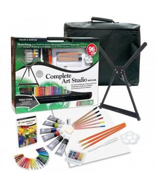 """Художественный набор с мольбертом SIMPLY """"Complete Art Studio"""", 96 предметов"""