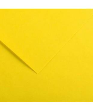 Бумага цветная Iris Vivaldi 240г/м.кв 50*65см №05 Желтый лютик, 200040358
