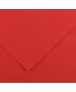 Бумага цветная Iris Vivaldi 240г/м.кв 50*65см №15 Красный, 200040368