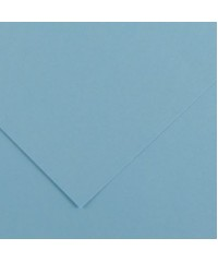 Бумага цветная Iris Vivaldi 240г/м.кв 50*65см №20 Небесно-голубой, 200040373