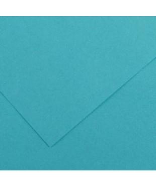 Бумага цветная Iris Vivaldi 240г/м.кв 50*65см №25 Синий бирюзовый, 200040378