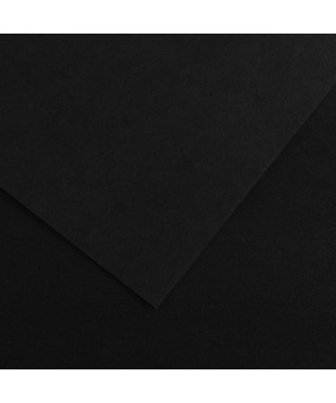 Бумага для пастели в листах Canson, серия Mi-Teines, цвет Черный, № 425, размер 50х65 см, 160 гр/кв.м, 200361014