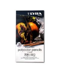 Lyra Набор цветных карандашей Rembrandt Polycolor, 12 цветов