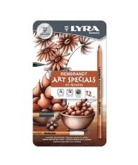 Набор профессиональных карандашей LYRA Rembrandt Art Specials 12 цветов