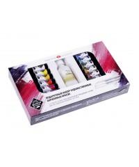2241968 Подарочный набор художественных акриловых красок ЛАДОГА 12 цв х 18 мл