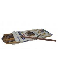 Деревянные карандаши GIOTTO STILNOVO SKINTONES12 шт., Цвета, имитирующие оттенки кожи человека, 12 цв  257400