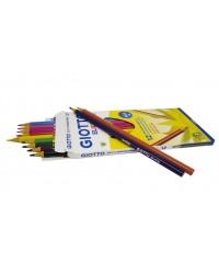 Цветные пластиковые карандаши Giotto Elios Tri  12шт, 275800