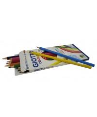 Цветные деревянные карандаши, 12 шт.  GIOTTO COLORS 3.0 , 276600