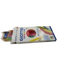 Цветные деревянные карандаши GIOTTO COLORS 3.0, 24 цвета