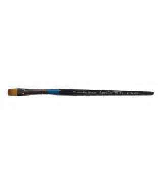 Кисть синтетика, плоская, короткая ручка № 10, AQUAFINE, 282062010