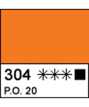 Краска акриловая МАСТЕР-КЛАСС 12304304  Кадмий оранжевый, 46 мл