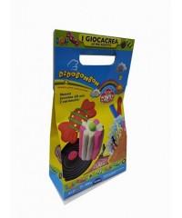 Детский набор для лепки DIDO LE MIE RICETTE BONBON паста 6*50гр,стек, скалка+ материалы  341600