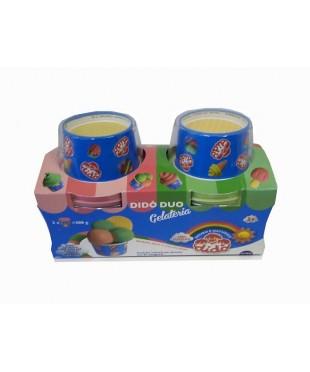 Паста для лепки  DIDO DUO GELATERIA 341800    2*150гр.+2стаканчика, стек+вспомог. материалы