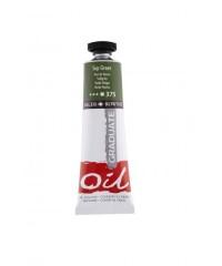 Краска масляная Daler-Rowney GRADUATE 38мл, 375 Зеленый желчный