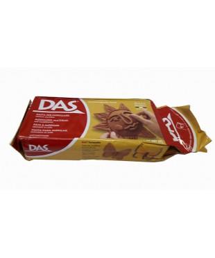 Паста для моделирования DAS, 500 гр, терракотовая, 387100