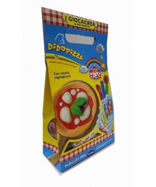 Детский набор для лепки DIDO Pizza, паста 6*, 3 стека+вспомог. материал, 399000