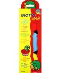 Паста для моделирования GIOTTO be-be Super Modelling Dough, 3шт*100 гр, жел, красн, син., 462501