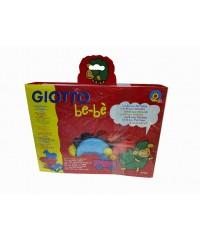 Детский набор для моделирования GIOTTO be-be Super Modelling Dough set  3цв*100гр+ инструменты  462900