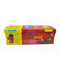 Паста для моделирования GIOTTO be-be Super Modelling Dough, 3шт*220гр, 463100