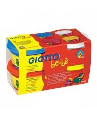 Мягкая паста для моделирования GIOTTO be-be Super Modelling Dough 4шт х 100 гр., 464901