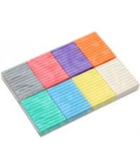 Пластилин GIOTTO PATPLUME, 8 цв х 33 гр пастельные цвета, 513500
