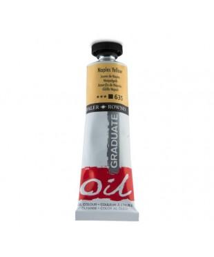 Краска масляная Daler-Rowney GRADUATE 38мл, 635 Желтый неаполитанский