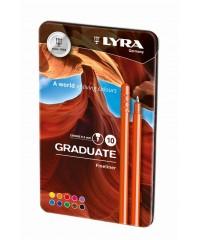 """Набор цветных линеров Lyra """"Graduate Fine Liner"""" 10 цветов"""