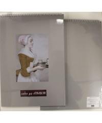 280421712 Альбом для акварели серая бумага А3 340гр. 20л