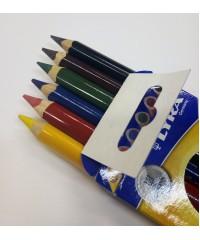 Деревянные карандаши Super FERBY,6 цв., L3721060