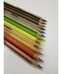 Гексагональные цветные карандаши LYRA GRADUATE, 12 шт., картонная упаковка