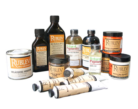 Товары Rublev Natural Pigments