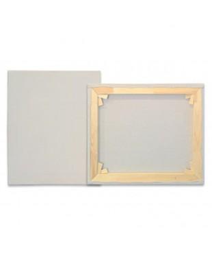 5060 stretched canvas Холст итальянский на подрамнике 50х60, состав хлопок 85%, синтетика 7,5%, лен 7,5%. Среднее зерно.
