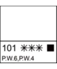 2204101 Краска акриловая Ладога Белила титановые, 46 мл