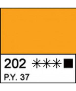 Краска акриловая МАСТЕР-КЛАСС 12304202, Кадмий желтый темный, 46 мл