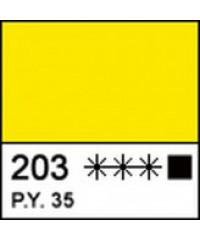 12304203 Краска акриловая МАСТЕР-КЛАСС Кадмий лимонный, 46 мл