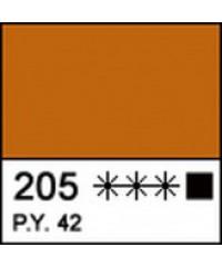 Краска акриловая МАСТЕР-КЛАСС 12304205, Охра золотистая, 46 мл